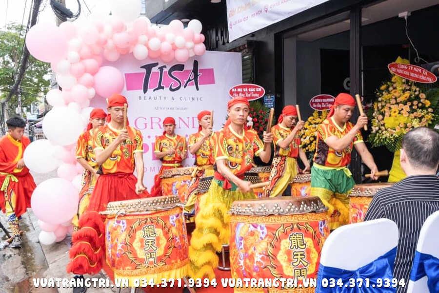 Dịch vụ múa lân khai trương TPHCM