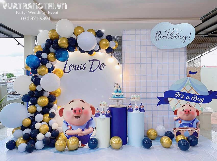 Top [10+] mẫu trang trí sinh nhật 3d bé trai hot năm 2021