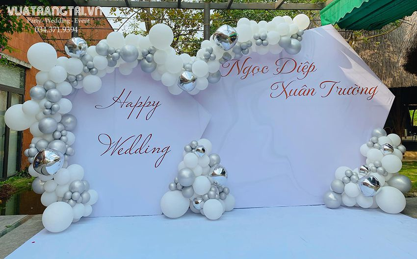 TOP 20 mẫu trang trí đám cưới sang trọng hot năm 2021